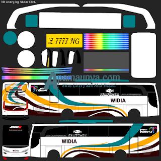 Livery bus jbhd 2 widia