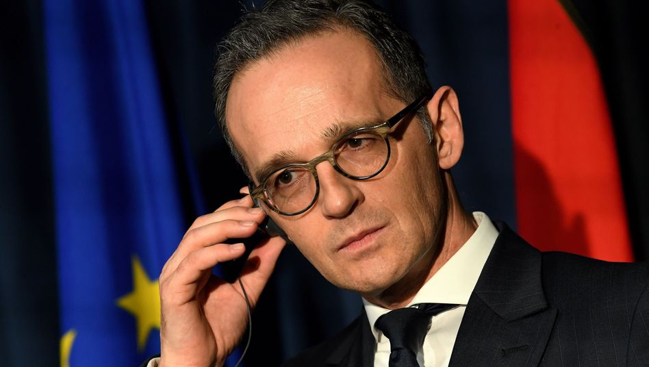 Heiko Maas, Foreign Minister of Germany