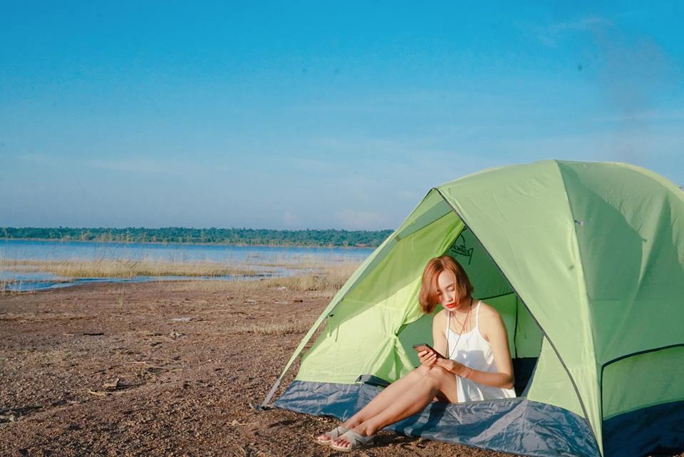 Hồ Trị An, một hồ nước nhân tạo nằm trên sông Đồng Nai