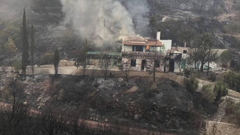 ΠΥΡΙΝΟΣ ΕΦΙΛΑΤΗΣ στην  Μεσσηνία: Σε παραλίες ξενύχτησε ο κόσμος, κάηκαν σπίτια