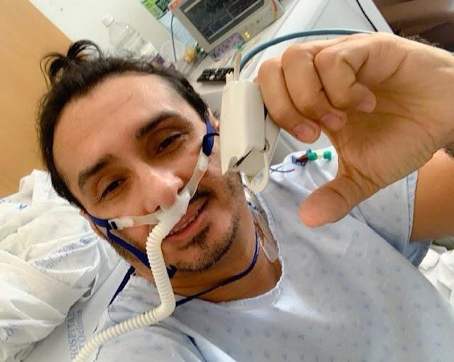 Vicente Nery, internado com covid, revela em vídeo: 'tive muito medo, mas sabia que Deus estava comigo'