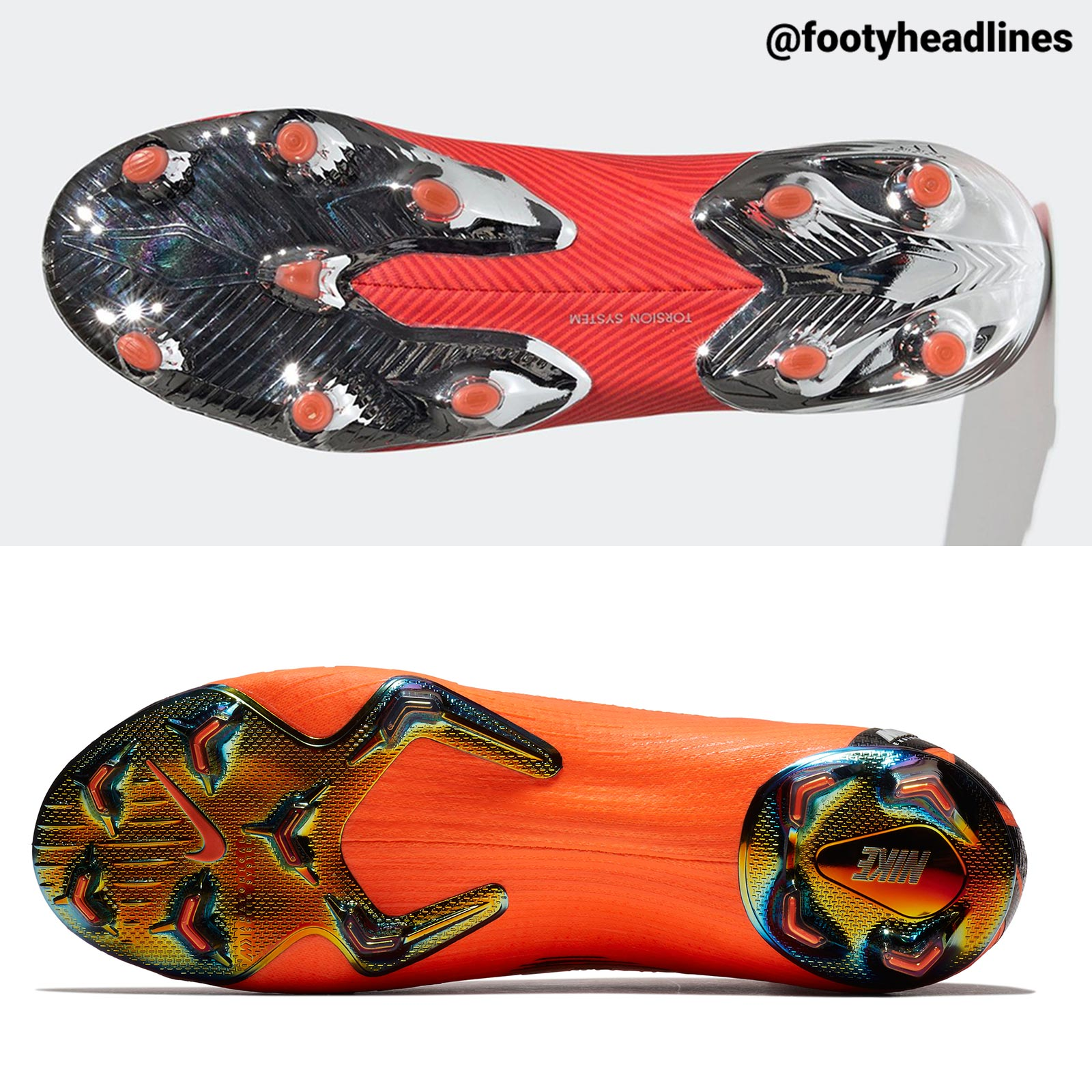 9912236f4 The Mercurial Superfly 360 and Mercurial Vapor 360 wrap the entire foot in Nike  Flyknit. The main feature of the Adidas Nemeziz 19+ is that the Adidas ...