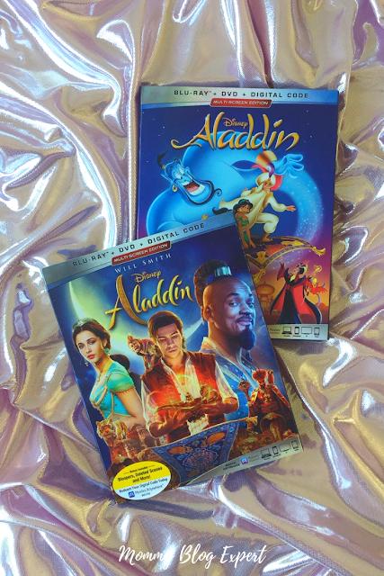 Disney Aladdin Bluray DVD Review