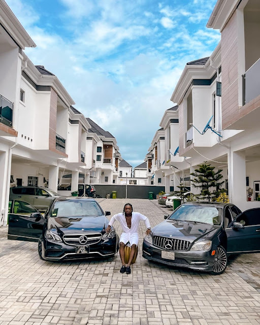 Instagram Comedian, Lord Lamba Acquires Two Benz Within Six Months