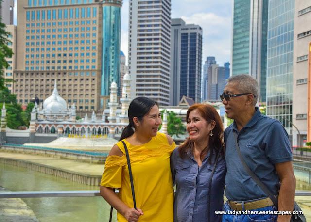 family vacation in Kuala Lumpur