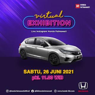 Promo Honda  Virtual Exhibition, Brio, Mobilio, Hrv, Brv, City Hatchback, Crv Turbo, Civic Trubo