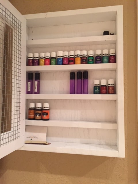 All Things Harrigan Diy Essential Oil Storage Cabinet