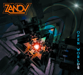 Portada del quinto álbum del músico electrónico francés Zanov titulado Open Worlds (2016).