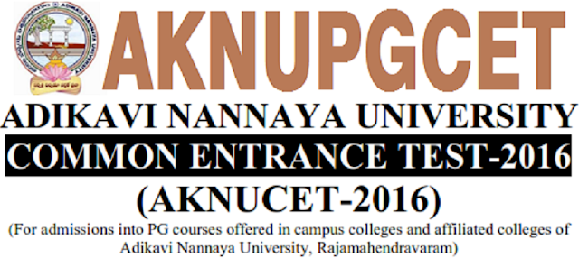 AKNUCET,Counselling dates,Certificates verification,AKNUPGCET