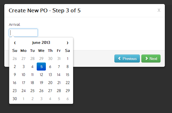 Notes Speak: Datepickers in Bootstrap that are Contained in