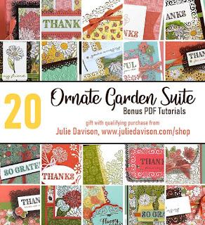 20 Bonus Project Tutorials for Stampin' Up! Ornate Garden Suite ~ 2020-2021 Annual Catalog Sneak Peek
