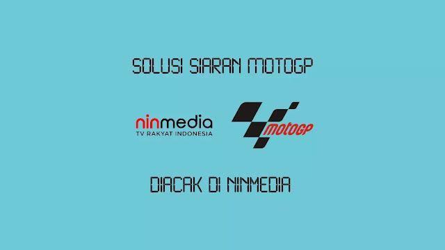 Solusi Siaran MotoGP Diacak di Ninmedia