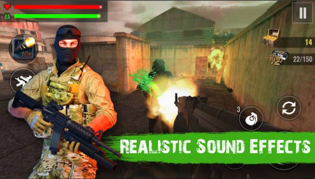 Game Fps Zombie Offline: Zombie Shooter Hell 4 Survival MOD APK
