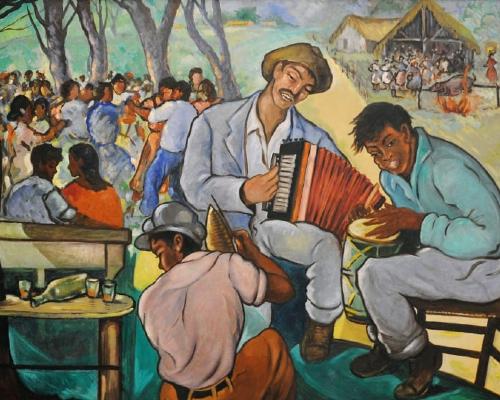 Fiesta campesina, 1959