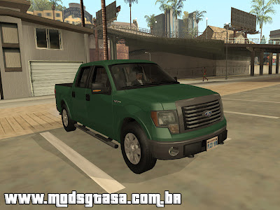 Ford F150 XLT SuperCrew 2010 para GTA San Andreas