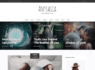 Antsasia Blogger Template