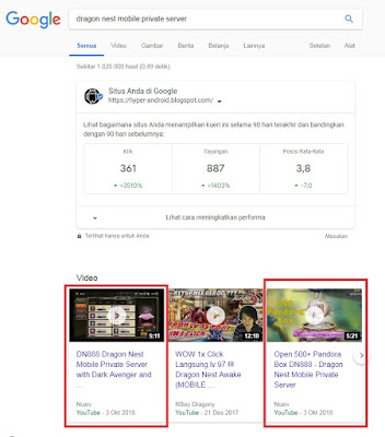 Cara Optimasi Video Youtube Untuk Pemula YT Search Google