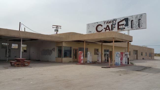 Desert Center California Ghost Town