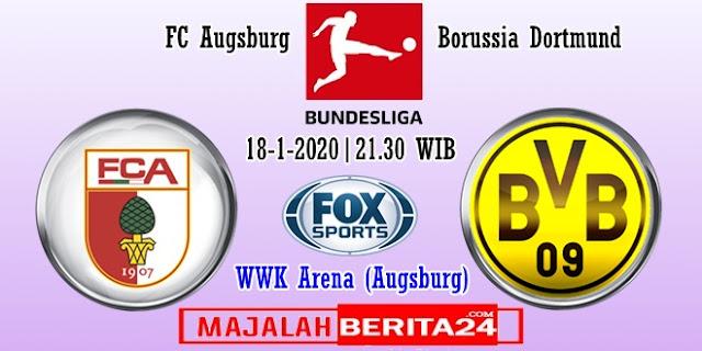 Prediksi Augsburg vs Borussia Dortmund — 18 Januari 2020