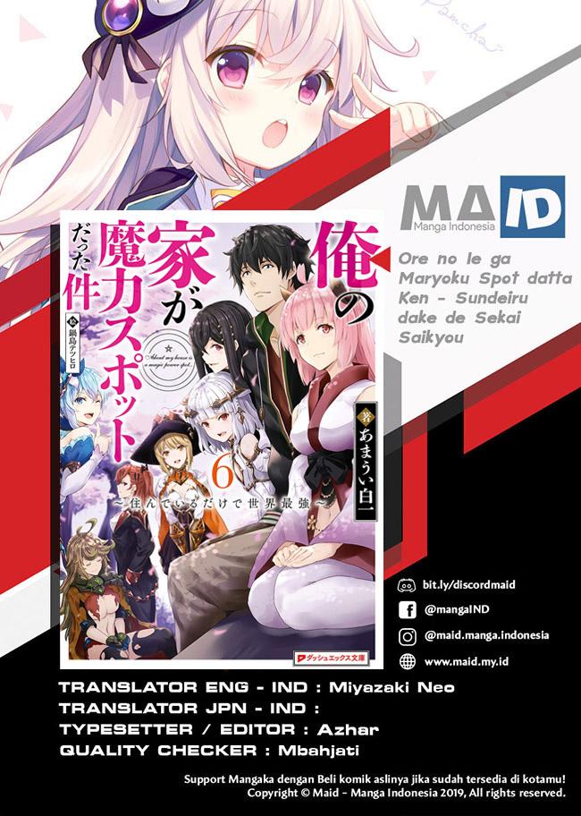Komik Ore no Ie ga Maryoku Spot datta Ken: Sundeiru dake de Sekai Saikyou Chapter 27 Gambar 2