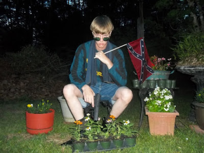 White supremacist Dylann Roof