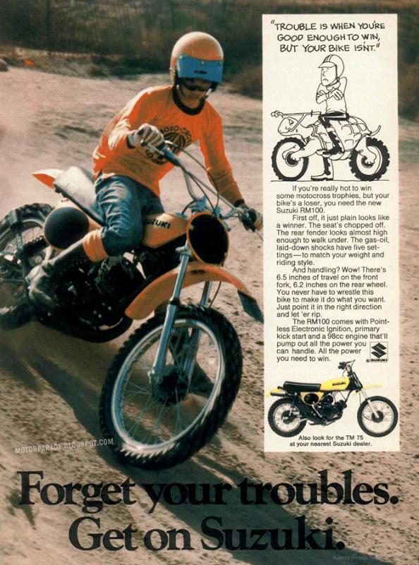 racing cafè: vintage brochures: suzuki tm 75 1975 (usa)
