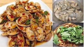 อร่อยต้องบอกต่อ สูตรหอยลายผัดน้ำพริกเผา หอยเต็มคำ ไม่มีเศษดินตำใจ
