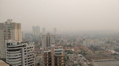 Além de calor histórico, Cuiabá tem umidade de apenas 7%