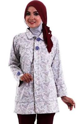 Model Baju Batik Dress Anak Muda