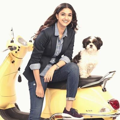 Keerthi Suresh Cute Pics