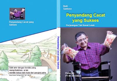 cover buku berjudul Penyandang Cacat yang Sukses www.simplenews.me