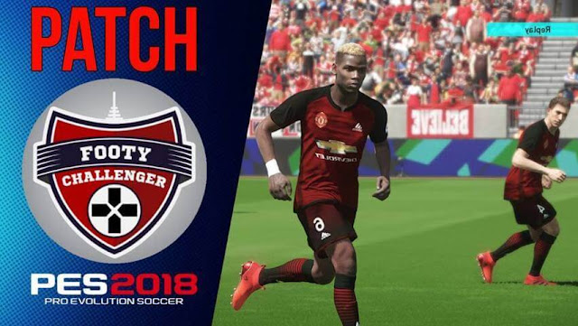 FootyChallenger PC Patch PES 2018
