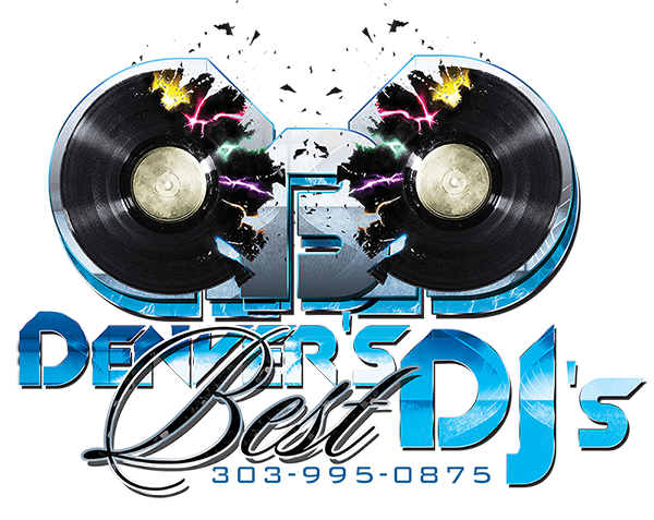 Denver's Best DJs Colorado's Elite DJ Team Logo Design serving Aurora Arvada Broomfield Springs Aspen Lakewood Littleton
