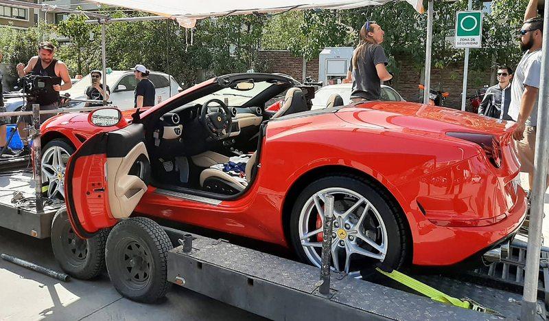 Así se hizo la escena del Ferrari en 100 días para enamorarse