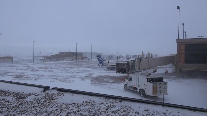 Kathryn S Report Weather Causes A Few Delays At Rapid City Regional Airport