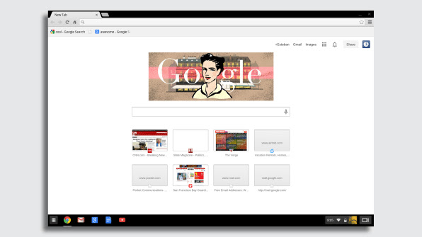 Google selama lebih dari 10 tahun merancang OS Chrome