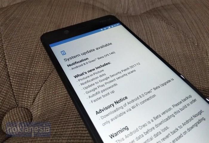 Nokia 5 & 6 Resmi Mendapatkan Android Oreo Versi Beta