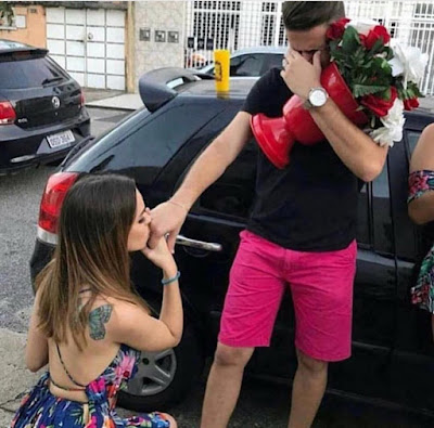 Is it wrong to propose to a man?
