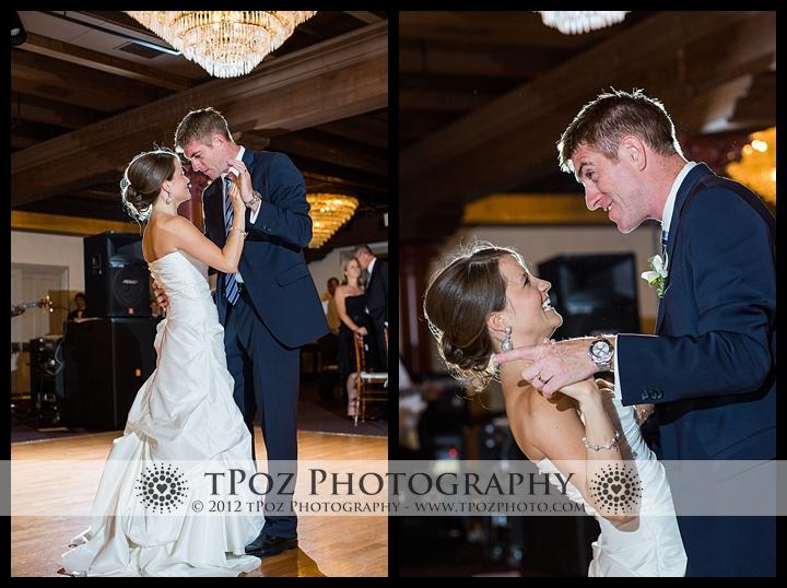 1840's Ballroom Wedding Reception First Dance