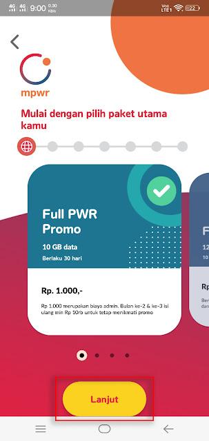 Paket MPWR Indosat