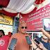Robi Barus  Sosialisasikan Perda No 4 Thn.2012 serta Bagikan Kaca Mata