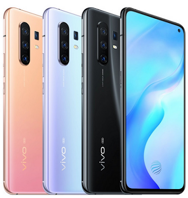 Vivo Launches X30 and X30 Pro Flagship 5G Phones with Glass Back, Triple Cameras