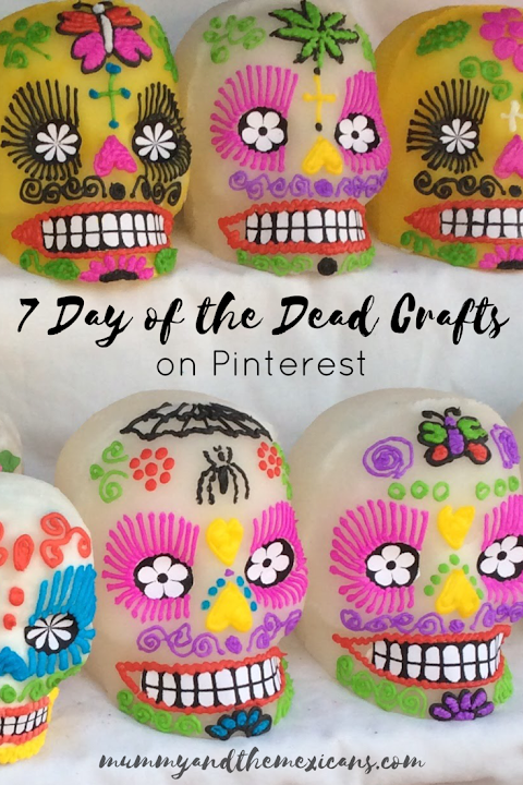 7 Day of the Dead Crafts on Pinterest