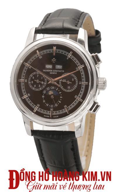 đồng hồ Vacheron Constantin dây da