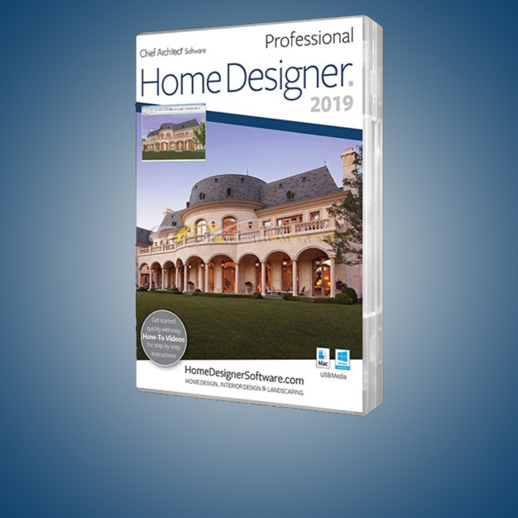 HOME DESIGNER PROFESSIONAL 2019 V20.3.0.54 + CRACK
