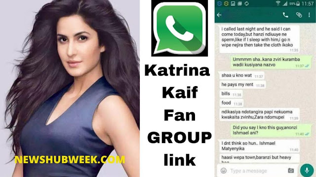 Join 3+ Katrina Kaif Fans WhatsApp Groups links latest Update