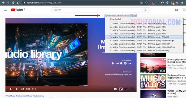 IDM - Cara Download Video Youtube di HP Android dan Laptop Dengan & Tanpa Software