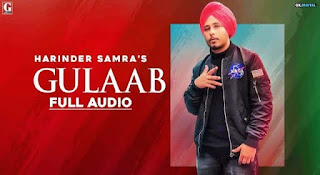 गुलाब Gulab Lyrics in Hindi | Harinder Samra