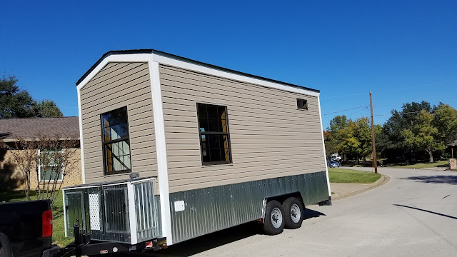 Tiny House Town Fort Worth Tiny House 160 Sq Ft