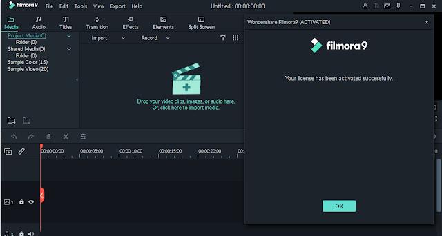Screenshot Wondershare Filmora 9.3.7.1 Full Version